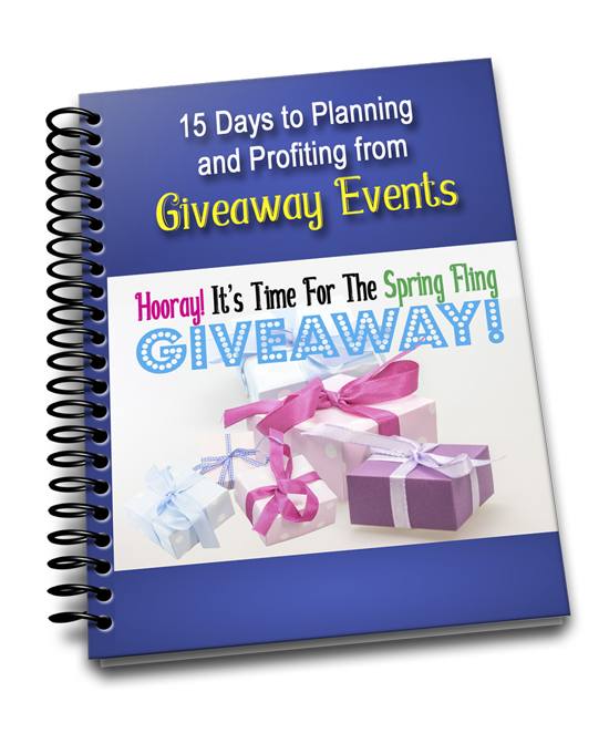 Profiting From Giveaways 15 Day Challenge